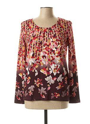 T-shirt manches longues rouge GERRY WEBER pour femme