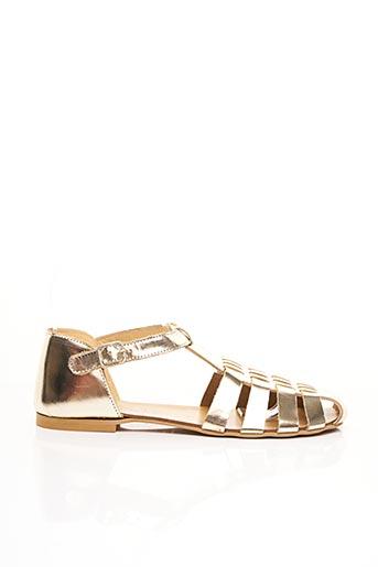 Sandales/Nu pieds jaune MANUELA DE JUAN pour fille
