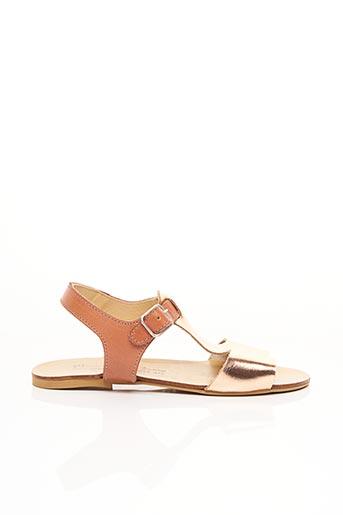 Sandales/Nu pieds marron MANUELA DE JUAN pour fille