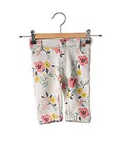 Pantalon casual gris PETIT BATEAU pour fille seconde vue