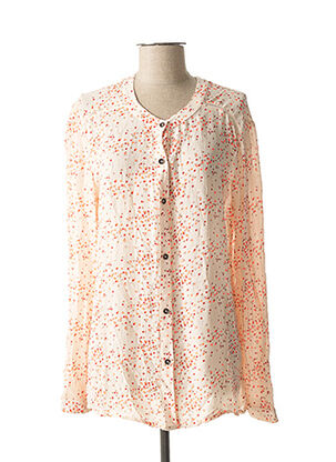 Chemisier manches longues rose TEDDY SMITH pour femme