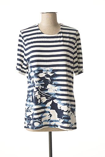 T-shirt manches longues bleu BRANDTEX pour femme