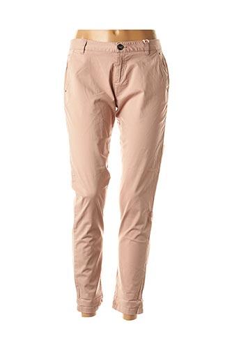 Pantalon casual rose DDP pour femme