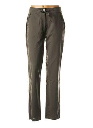 Pantalon chic vert GRIFFON pour femme