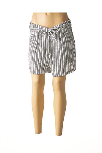 Short gris TEDDY SMITH pour femme