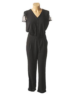 Combi-pantalon noir TEDDY SMITH pour femme