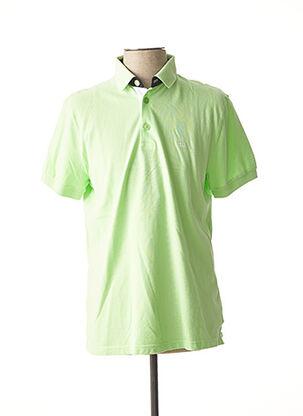 Polo manches courtes vert TBS pour homme
