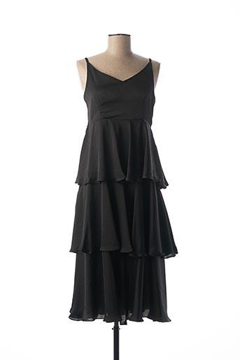 Robe mi-longue noir ANONYM APPAREL pour femme