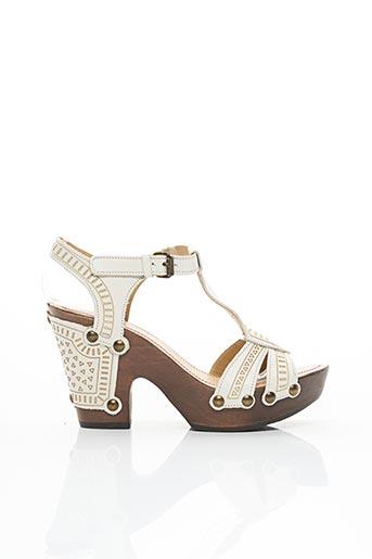 Sandales/Nu pieds blanc BOCAGE pour femme
