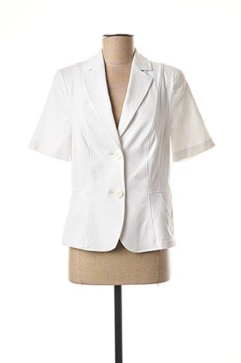 Veste chic / Blazer blanc FRANK WALDER pour femme