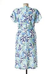 Robe mi-longue bleu REGINE pour femme seconde vue