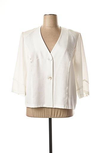 Veste chic / Blazer blanc FRANCOISE DE FRANCE pour femme