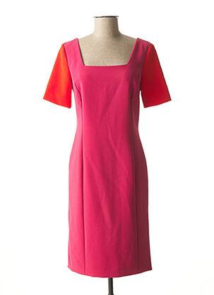 Robe mi-longue rose TRUSSARDI JEANS pour femme