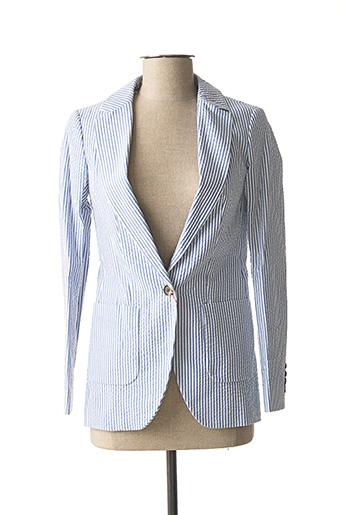 Veste chic / Blazer bleu EL GANSO pour femme
