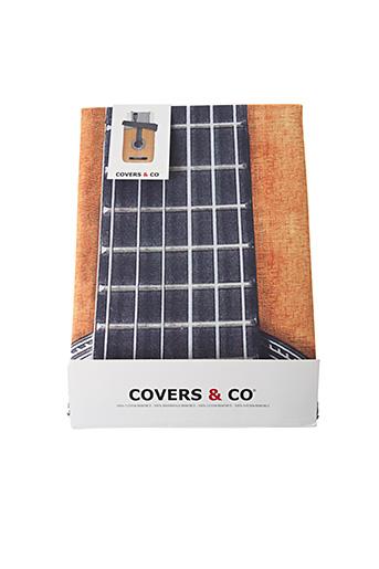 Parure de lit orange COVERS & CO pour femme