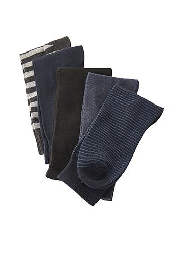 Chaussettes bleu BUSINESS SOCKS pour unisexe