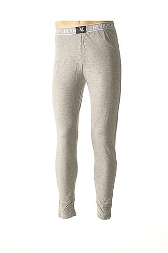 Pyjama gris CHEVIGNON pour homme