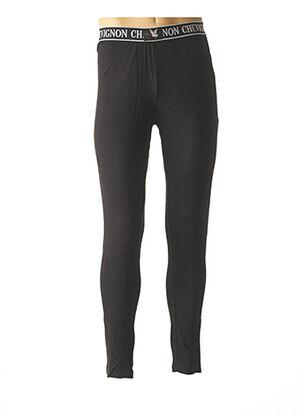 Pyjama noir CHEVIGNON pour homme