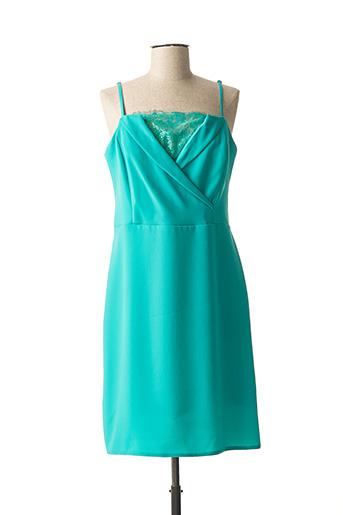 Robe mi-longue vert EDAS pour femme