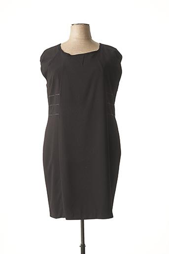 Robe mi-longue noir AU PETIT LOUVRE pour femme