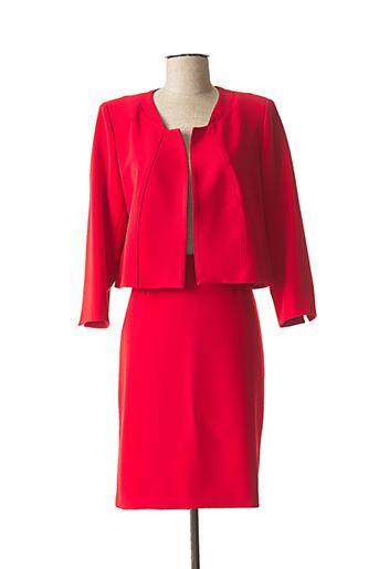 Veste/jupe rouge ANNE KELLY pour femme