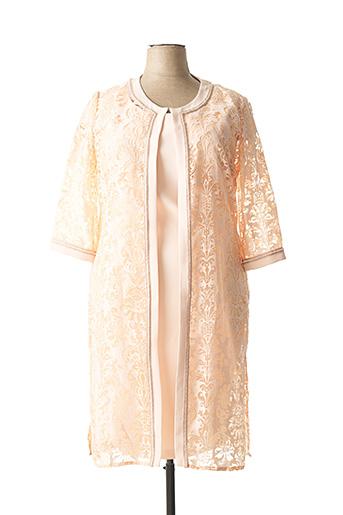 Veste/robe rose TESSY pour femme