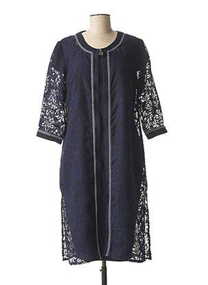 Veste/robe bleu TESSY pour femme