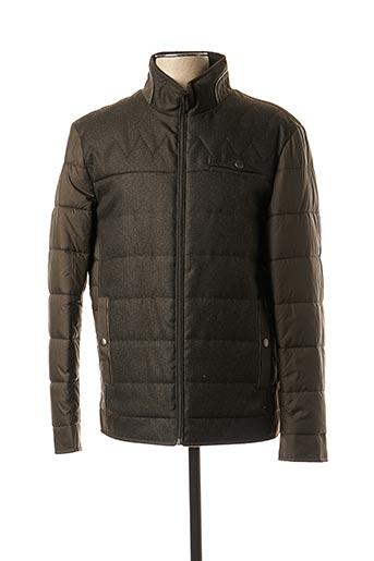 Manteau court vert REVER MILE pour homme