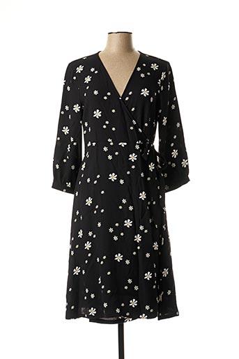 Robe longue noir STREET ONE pour femme