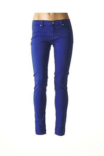 Jegging bleu FREESOUL pour femme