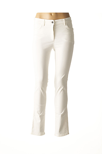 Pantalon casual blanc COUTURIST pour femme