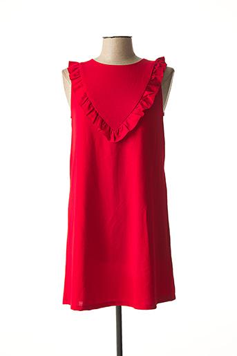 Robe courte rouge COMPAÑIA FANTASTICA pour femme