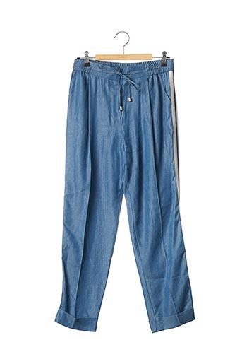 Pantalon chic bleu ABSOLU pour femme