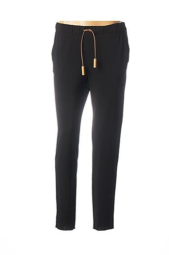 Pantalon casual noir FABIANA FILIPPI pour femme