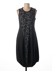 Robe mi-longue noir HIGH pour femme seconde vue