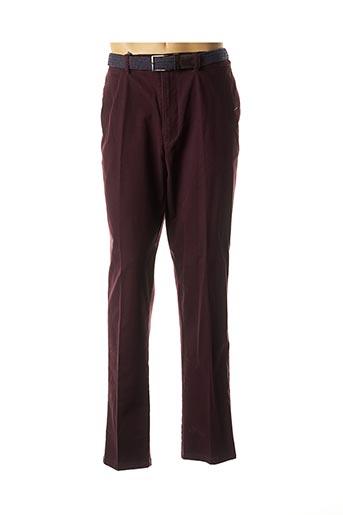 Pantalon chic violet LCDN pour homme