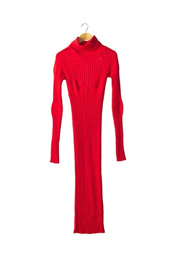 Robe longue rouge CIRCUS pour femme