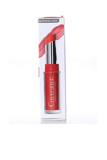 Maquillage rouge COUVRANCE pour femme