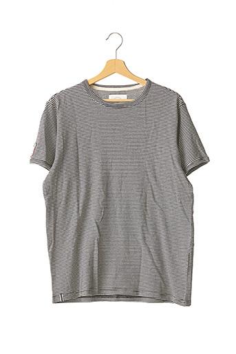 T-shirt manches courtes bleu KAPORAL pour homme