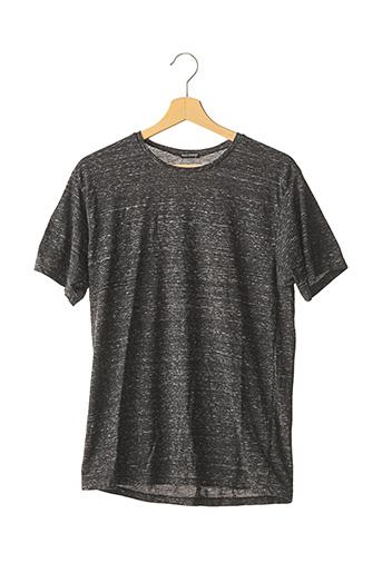 T-shirt manches courtes noir BLUE GARAGE pour homme