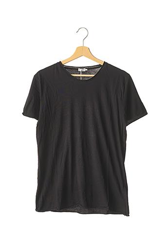 T-shirt manches courtes noir FILIPPA K pour homme