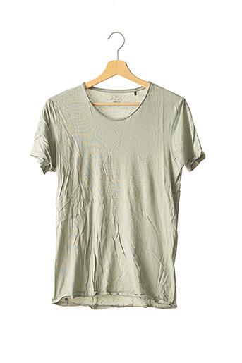 T-shirt manches courtes vert IKKS pour homme