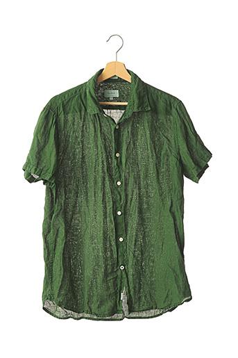 Chemise manches courtes vert PEPE JEANS pour homme
