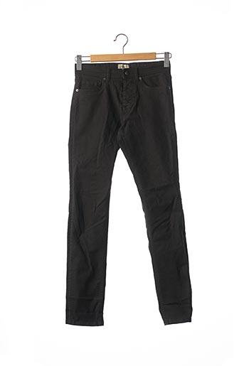 Jeans coupe slim noir JULES pour homme