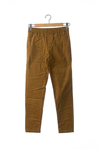 Pantalon casual jaune SAMSOE & SAMSOE pour homme