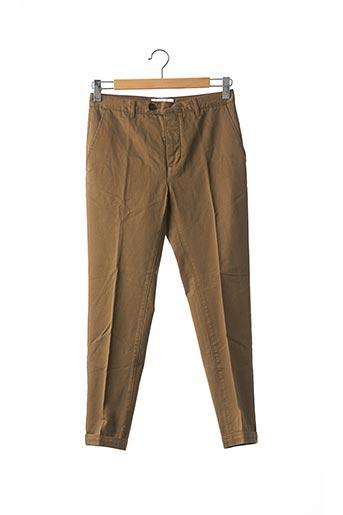 Pantalon casual marron INSIMA pour homme