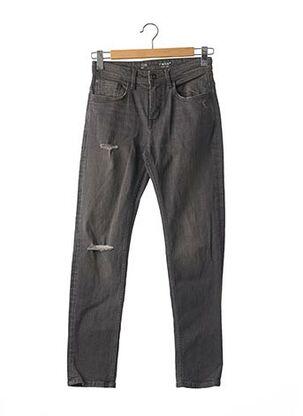 Jeans coupe slim gris CELIO pour homme