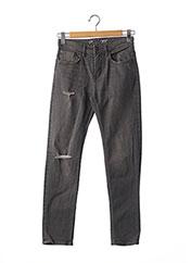 Jeans coupe slim gris CELIO pour homme seconde vue