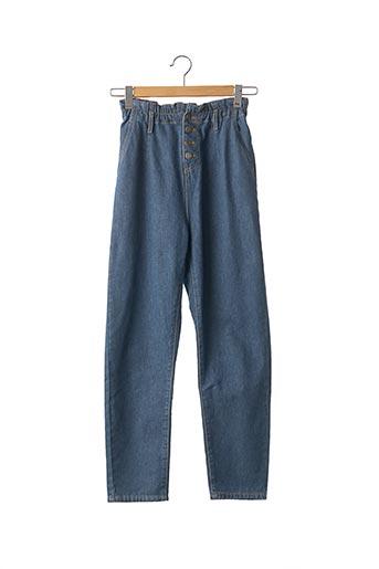 Jeans coupe slim bleu BALZAC pour femme