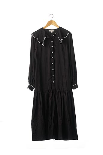 Robe longue noir NEVER FULLY DRESSED pour femme